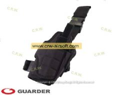 Tornado Tactical Thigh Holster (Black) by Guarder